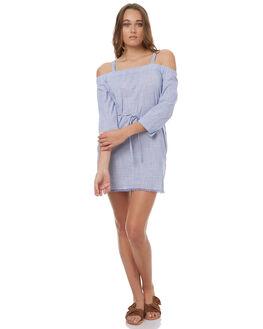 BLUE WOMENS CLOTHING ELWOOD DRESSES - W73710BLUE