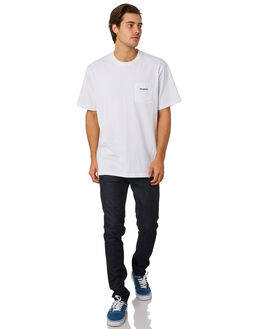WHITE MENS CLOTHING PATAGONIA TEES - 38441WHI