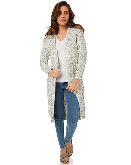 OFF WHITE WOMENS CLOTHING RIP CURL KNITS + CARDIGANS - GSWEY10003