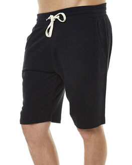 BLACK MENS CLOTHING BONDS SHORTS - AYWDIBAC