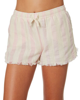 PINK WHITE STRIPE KIDS GIRLS EVES SISTER SHORTS + SKIRTS - 9520018PKWTS