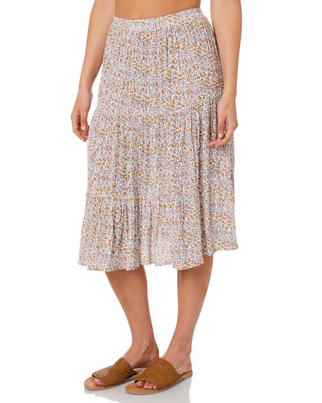 CORAL BAY WOMENS CLOTHING THE HIDDEN WAY SKIRTS - H8211233CRLBY
