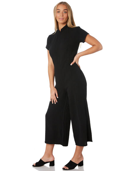 BLACK OUTLET WOMENS THE BARE ROAD PLAYSUITS + OVERALLS - 992041-04BLK