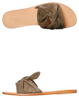 OLIVE WOMENS FOOTWEAR URGE FASHION SANDALS - URG17030OLI