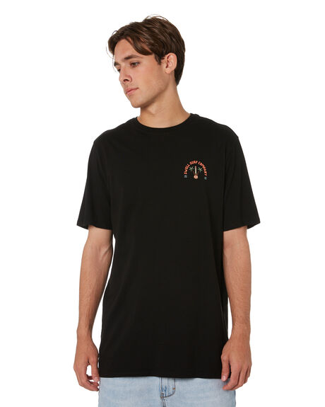 BLACK MENS CLOTHING SWELL TEES - S5213001BLK