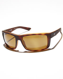 FUZZY HAVANA BROWN MENS ACCESSORIES ARNETTE SUNGLASSES - AN421603