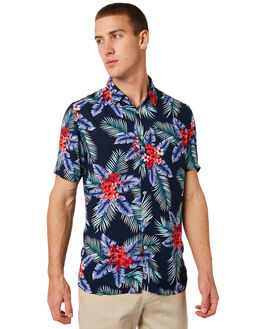 NOOSA NAVY MENS CLOTHING BARNEY COOLS SHIRTS - 370-BCONNVY