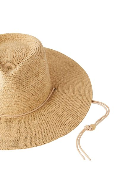 NATURAL WOMENS ACCESSORIES THE BEACH PEOPLE HEADWEAR - HT.W22.01.SM