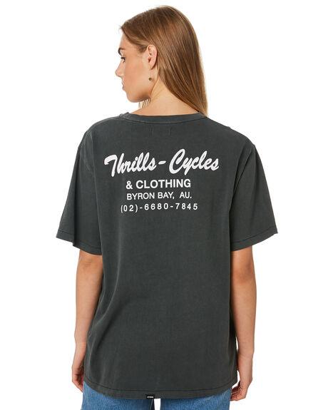 MERCH BLK WOMENS CLOTHING THRILLS TEES - WTA20-102BMMBLK