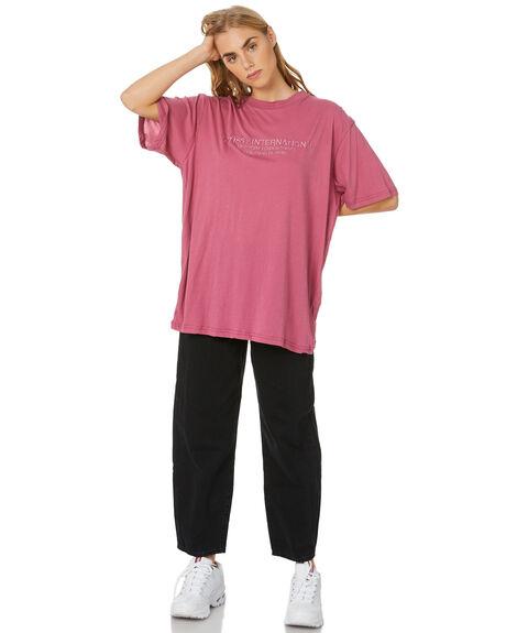 ROSE WOMENS CLOTHING STUSSY TEES - ST107003ROSE
