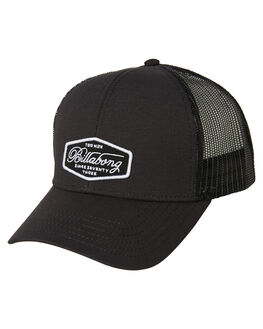 BLACK WHITE MENS ACCESSORIES BILLABONG HEADWEAR - 9695304ABLKWH
