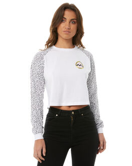 WHITE WOMENS CLOTHING BILLABONG TEES - 6585071WHT