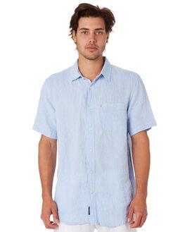 CHAMBRAY MENS CLOTHING ACADEMY BRAND SHIRTS - BA880CHAMB