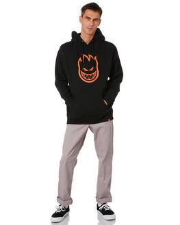 BLACK MENS CLOTHING SPITFIRE JUMPERS - 53110020XBLK