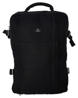 BLACK MENS ACCESSORIES RUSTY BAGS + BACKPACKS - BTM0205BLK