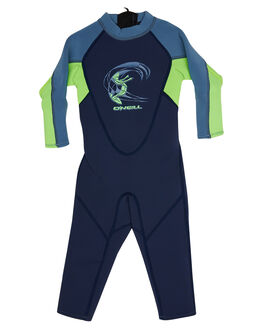 NAVY DAY GLOW BLUE SURF WETSUITS O'NEILL STEAMERS - 4868BGSE6