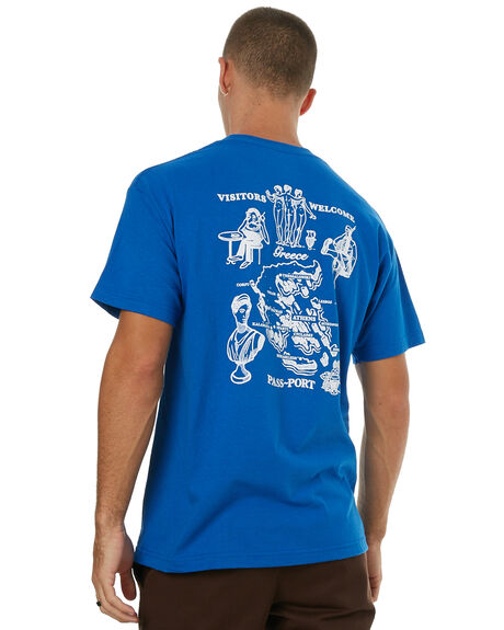 ROYAL MENS CLOTHING PASS PORT TEES - TTOWLRYL