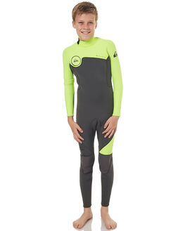 YELLOW JET BLACK BOARDSPORTS SURF QUIKSILVER BOYS - EQBW103022XKGK