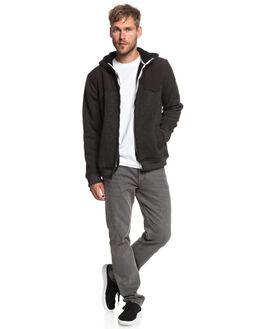 BLACK MENS CLOTHING QUIKSILVER JUMPERS - EQYFT03834-KVJ0