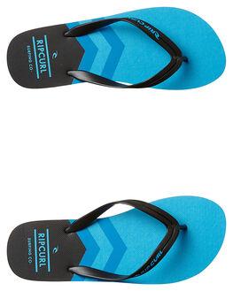 BLACK BLUE MENS FOOTWEAR RIP CURL THONGS - TCTE310107