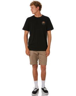 BLACK MENS CLOTHING DEPACTUS TEES - D5202006BLACK