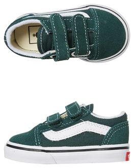 TREKKING GREEN KIDS BOYS VANS FOOTWEAR - VNA38JNV3N