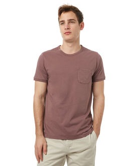 PURPLE SANDS MENS CLOTHING OUTERKNOWN TEES - 1210010PRS