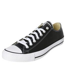 BLACK MENS FOOTWEAR CONVERSE SNEAKERS - 132174BLK