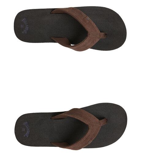 BLACK MENS FOOTWEAR BILLABONG THONGS - BB-9607950-BLK