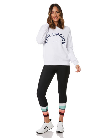 WHITE WOMENS CLOTHING THE UPSIDE ACTIVEWEAR - USW020042WHT