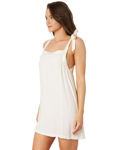 PALE IVORY WOMENS CLOTHING HURLEY DRESSES - CJ6170109