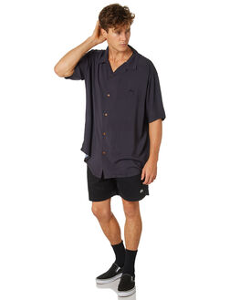 BLACK MENS CLOTHING STUSSY SHORTS - ST082610BLK