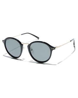 MATTE BLACK MENS ACCESSORIES LOCAL SUPPLY SUNGLASSES - STADIUMBKG25