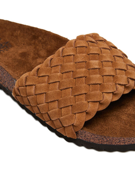 CHESTNUT WOMENS FOOTWEAR RIP CURL SLIDES - TGTC345101