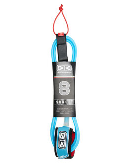 BLUE BOARDSPORTS SURF OCEAN AND EARTH LEASHES - LS80BLU