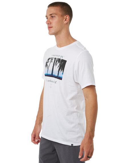 WHITE MENS CLOTHING HURLEY TEES - 892190100
