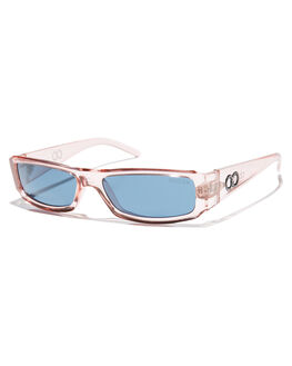 TRANSLUCENT PINK MENS ACCESSORIES CHILDE SUNGLASSES - CLD-G0540380TPNK