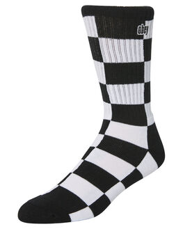 BLACK MULTI MENS CLOTHING OBEY SOCKS + UNDERWEAR - 100260122BKM
