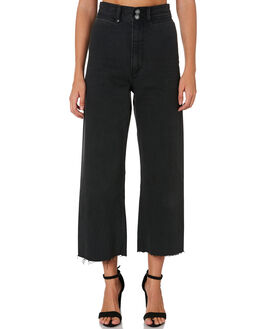 FADED BLACK WOMENS CLOTHING THRILLS PANTS - WTDP-423FBBLACK