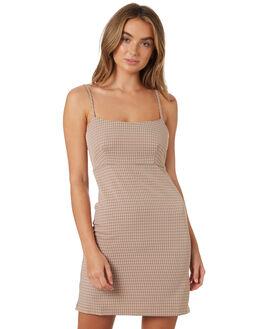 ORANGE MULTI WOMENS CLOTHING TWIIN DRESSES - IE19S1454ORA