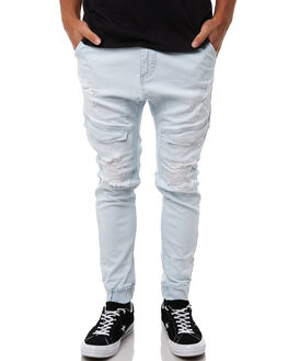 BROKEN BLEACH MENS CLOTHING NENA AND PASADENA PANTS - NPMFP004BBLE