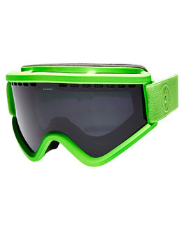 SLIME GREEN SNOW ACCESSORIES ELECTRIC GOGGLES - EG1316204JBLK