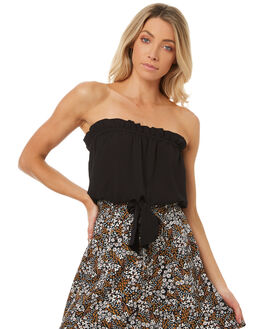 BLACK WOMENS CLOTHING THE FIFTH LABEL FASHION TOPS - 40171117BLK