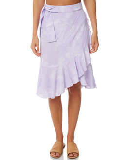 LILAC FLOWER OUTLET WOMENS RUE STIIC SKIRTS - S118-1LIL