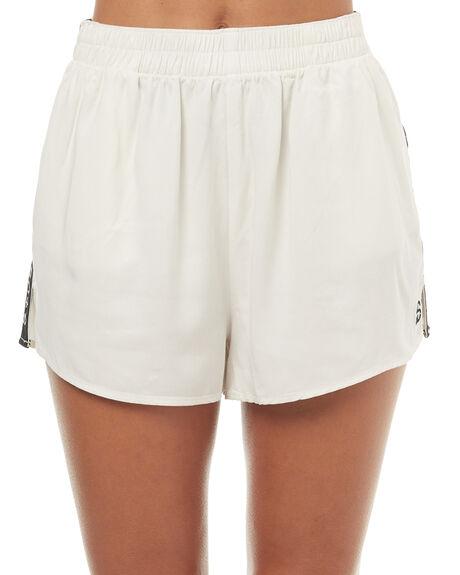 WHITE WOMENS CLOTHING STUSSY SHORTS - ST172605WHT