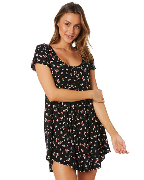 MULTI WOMENS CLOTHING VOLCOM DRESSES - B1332005_MTL