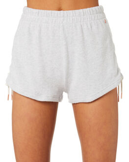 LIGHT GREY WOMENS CLOTHING VOLCOM SHORTS - B0931803LGR