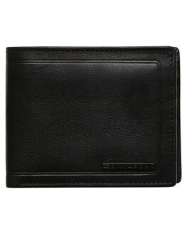 BLACK GRAIN MENS ACCESSORIES BILLABONG WALLETS - 9685182AKGI