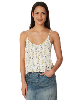 CREAM PRINT WOMENS CLOTHING ALL ABOUT EVE FASHION TOPS - 6423060PRNT