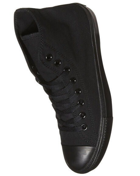 BLACK MONOCHROME MENS FOOTWEAR CONVERSE SNEAKERS - SS13310BLKMOM